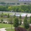 Akvapark Mogyoród - pohled na Hungaroring z tobogánu