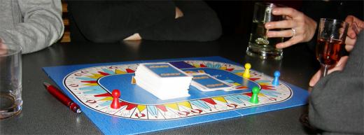 Zážitek z hraní deskových her lze vylepšit alkoholem.