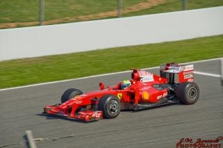 Vítězný vůz v roce 2010 – Ferrari F10.