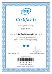 Ivan Kvis je Intel Technology Expert