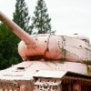 Růžový tank.