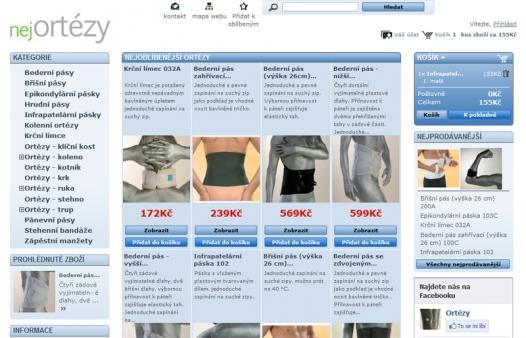 Ortézy Handicap z e-shopu Nejortézy. Nárůst prodejů navzdory krizi.