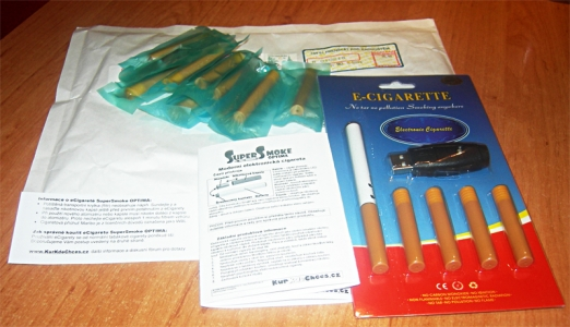 Test ecigarety