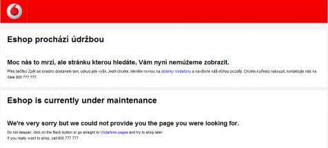 Vodafone roste jako z vody, já rostu z Vodafone.