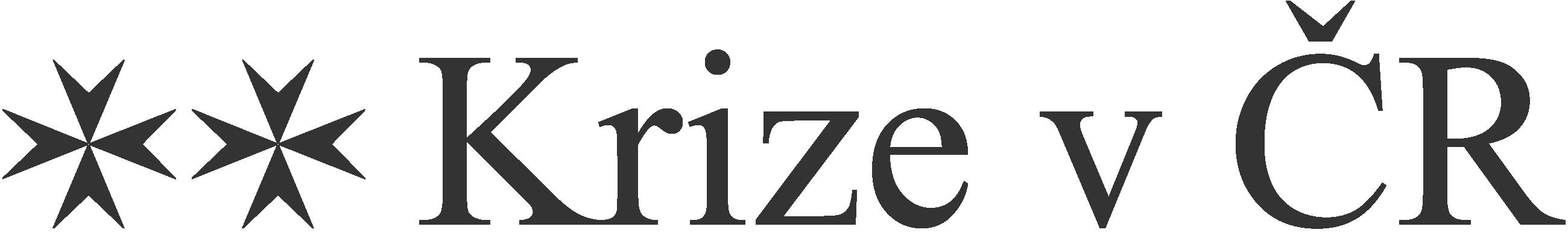 Krize v ČR